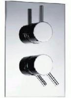 inbouw thermostaat ronde knop.