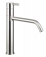 RVS Serie Sienna. Hoge waskom / keukenkraan met draaibare uitloop